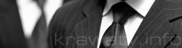 krawat węzły