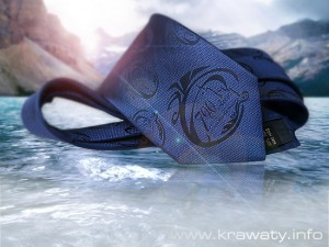 krawaty firmowe z tkanym logo - www.krawaty.info