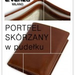 PORTFELE SKÓRZANE