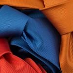 krawaty jednokolorowe