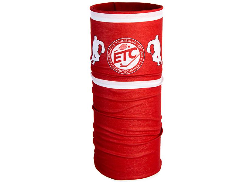 komin z nadrukiem logo ETC