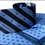 SET: Krawat + apaszka - Allianz bank
