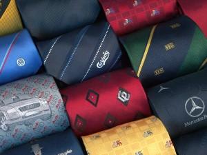 Krawaty z tkanym logo - Krawaty firmowe - www.krawaty.info