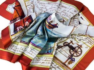 scarves with logo - digital print 3