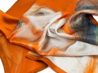scarves with logo - digital print 2