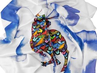 scarves with logo - digital print 1