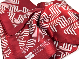 scarves with logo print screeni 1