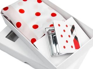 Apaszka + lusterko + pudełko kartonowe -4