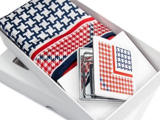 Apaszka + lusterko + pudełko kartonowe -5