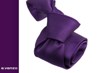 Krawat jednokolorowy ap081