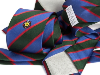 Tie with label with logo 1