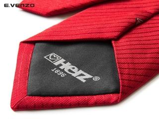Krawat z podszewką i logo 3