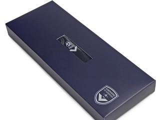 navy blue packaging