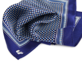 pocket square with logo 4