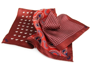 pocket square with logo 3