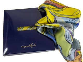 pocket square with logo 5