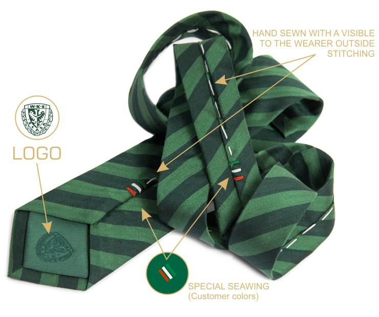 WKS-krawaty z logo2