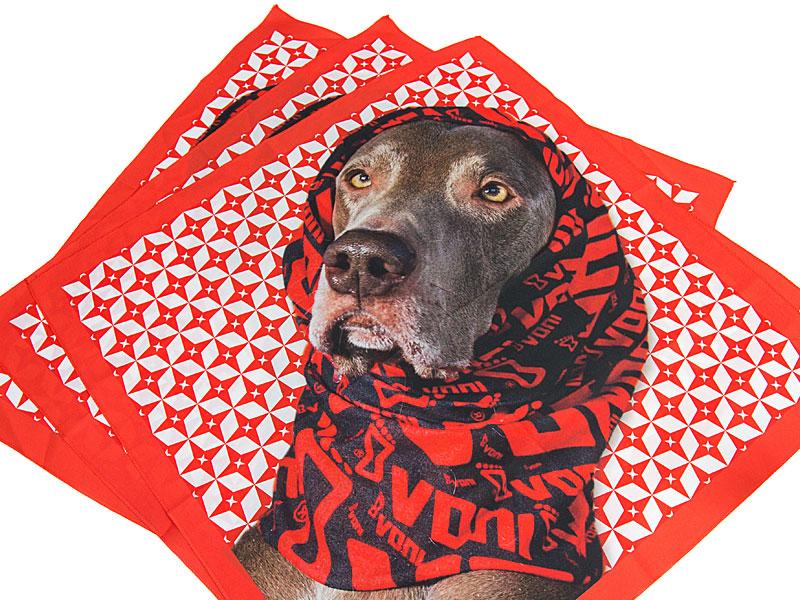 bandana with logo